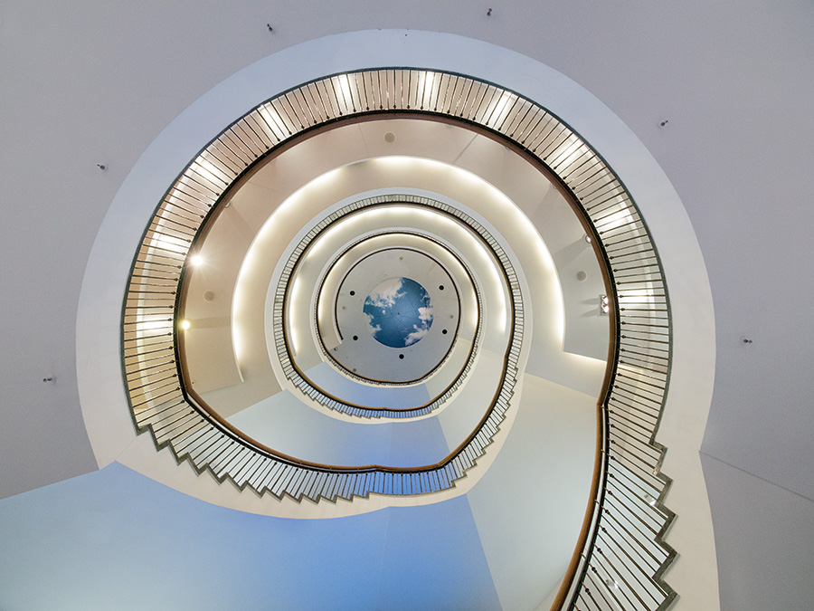 Treppen München treppen aus licht gezaubert